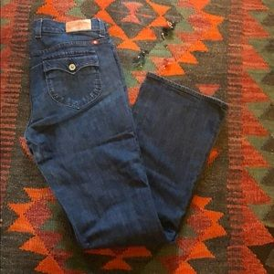 Lucky brand size 10 inseam 30.  sweet and low